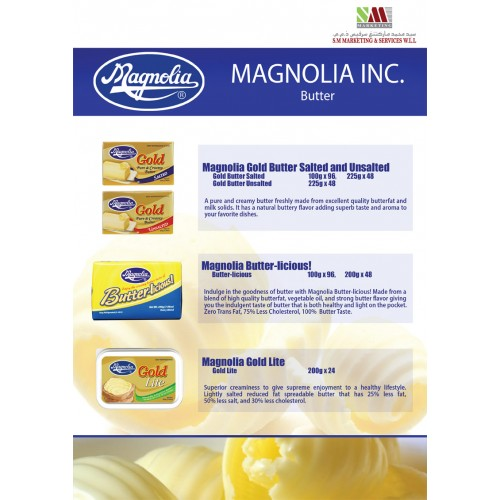 CHEESE & MARGARINE - Butter